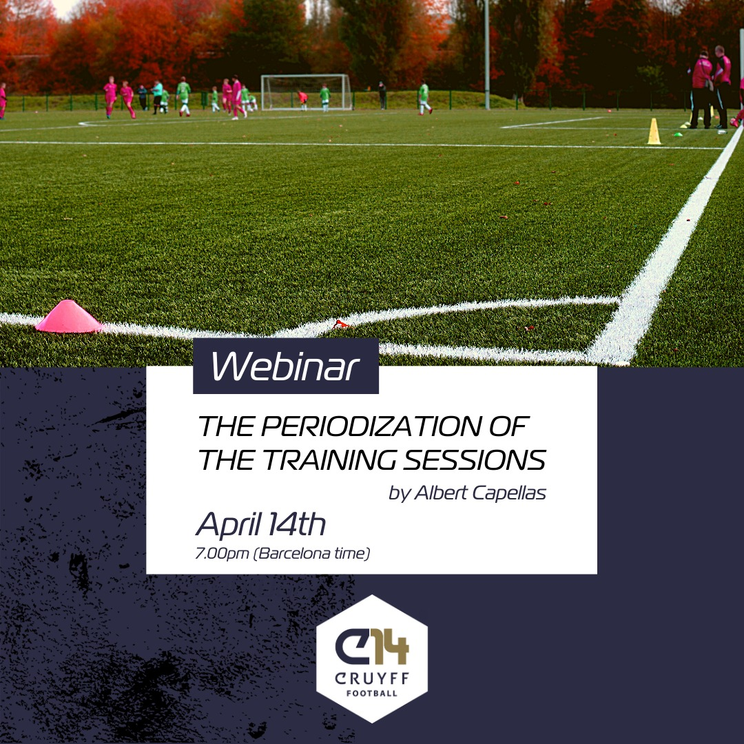 The periodization of the trainings sessions - Cruyff Football Platform by Possession Football