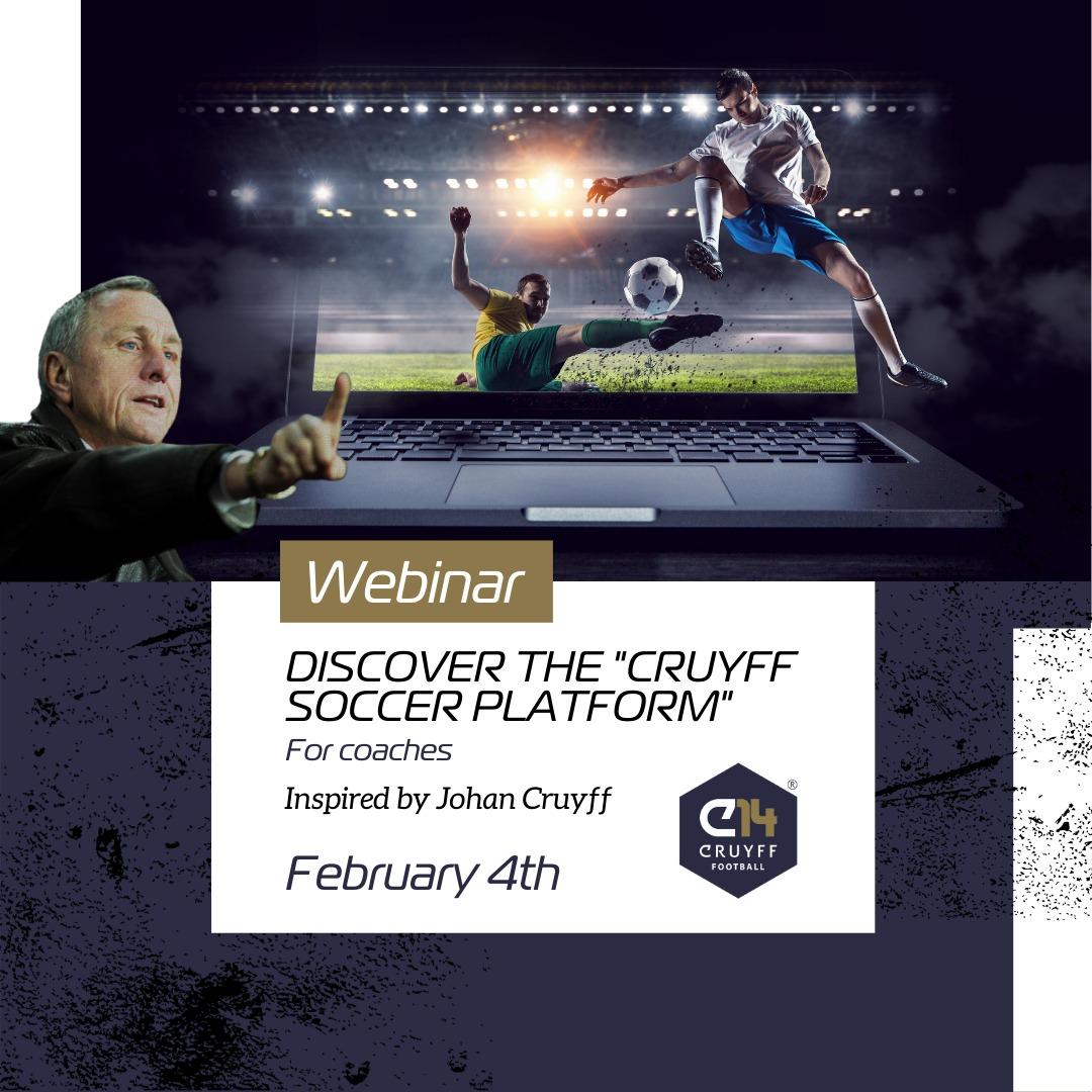 "Discover the ""Cruyff Soccer Platform"" for coaches - Cruyff Football Platform by Possession Football"