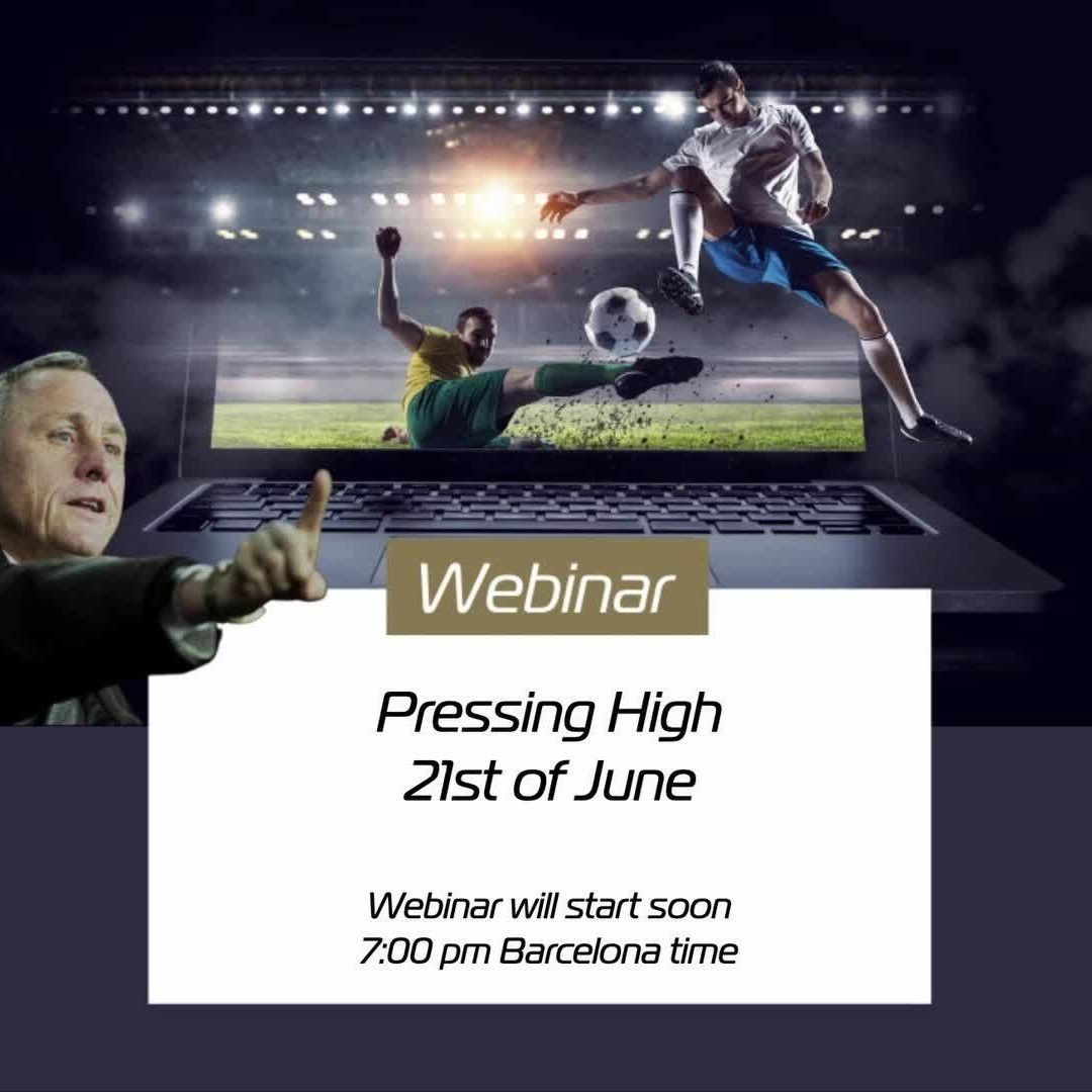 Pressing high - Cruyff Football Platform by Possession Football